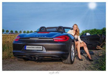 Красотки и автомобили фото