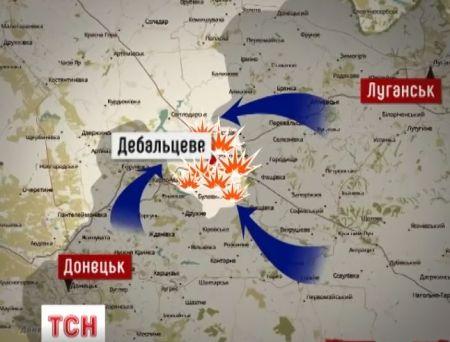 Боевики под Дебальцевом понесли серьезные потери и бросились наутек