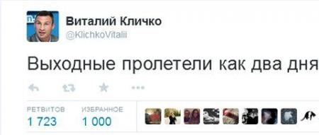 Виталий Кличко, Один в поле не двое