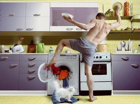 Экспресс-уборка за 5 минут перед приходом девушки