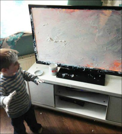 """Дети - это не только весело, но и """"Боже мой, что ты наделал(а)?!"""