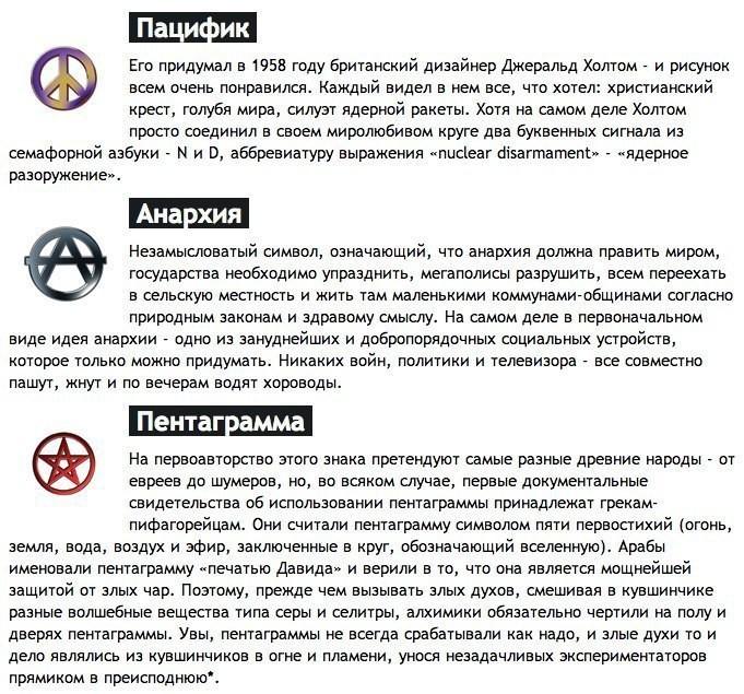 Шокирующая правда о знаках и символах