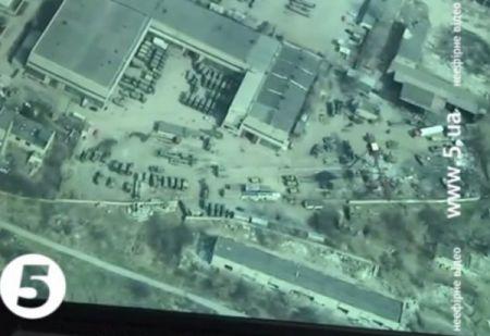 Беспилотнику сил АТО удалось снять оккупированный Донецк