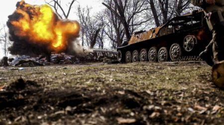 """Карта АТО 7 апреля: Боевики ведут обстрелы из """"запрещенного"""" оружия"""