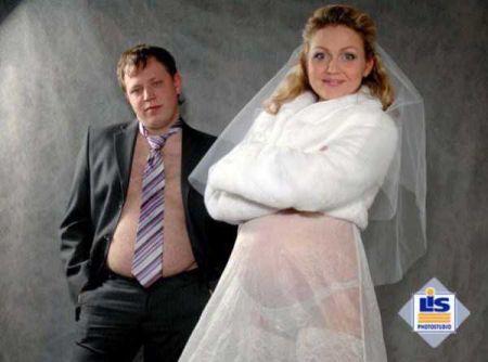 Ах эти свадебные фото приколы