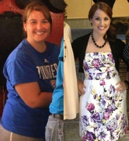 Девушки которые смогли похудеть