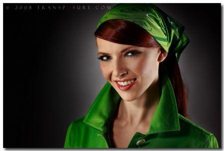 Девушки в зеленом.. или зелень в девушках (40 фото)