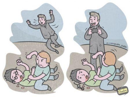 15 саркастичных иллюстраций о современном мире