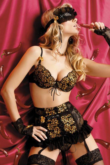 Модная и стильная Петра Кубонова в нижнем белье