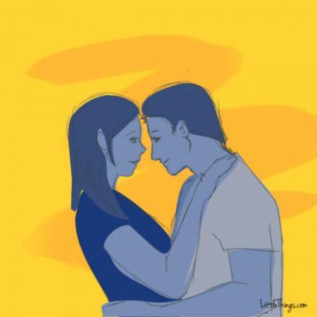 Объятия могут показать все тонкости ваших отношений