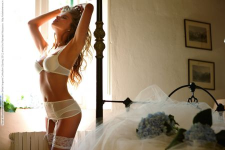 Девушки в свадебных нарядах фото