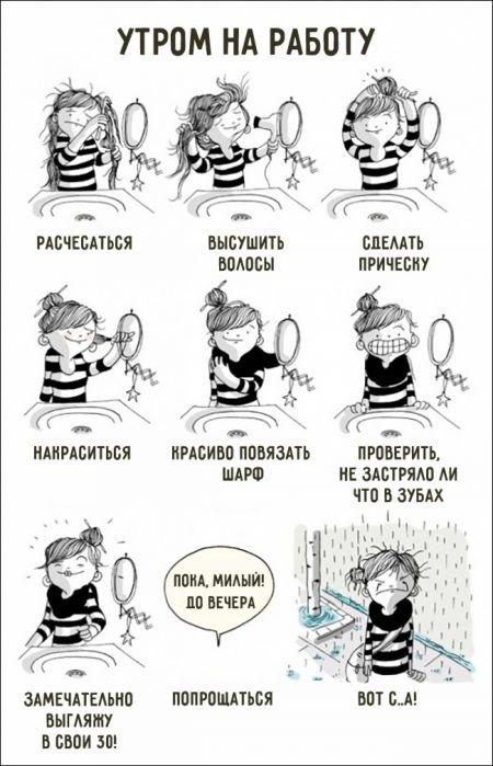 Комиксы о том, что значит быть женщиной