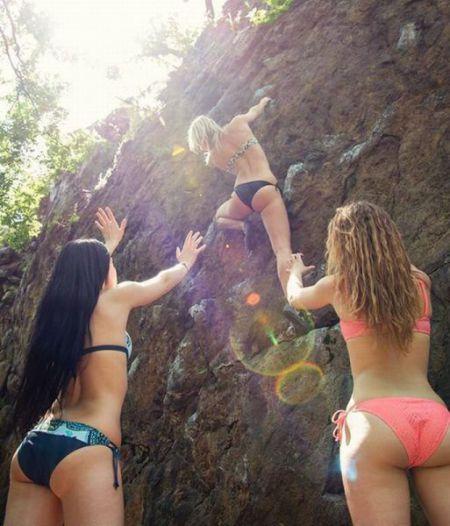 Прикольные девченки (30 фото)