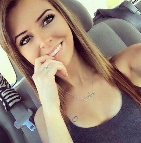 Симпатичные девушки из соцсетей