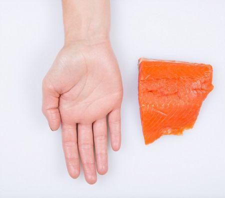 Определяем правильный размер порции еды при помощи ладони