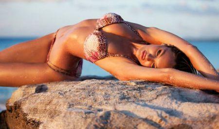 Девушка мечты: 15 роскошных фото Кэндис Свейнпол