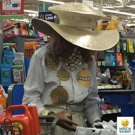Прикольные люди ходят в магазины