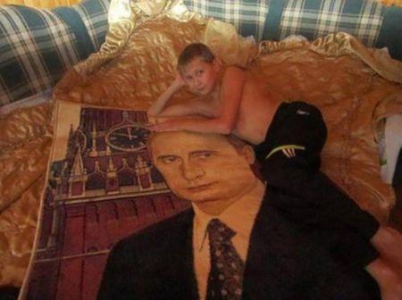 Так выглядит элита диванных войск России