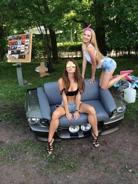Фото приколы с девушками (25 фото)