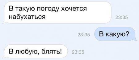 Прикольные SMS диалоги (33 фото)