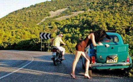 Женщинам за рулём посвящается (30 фото)