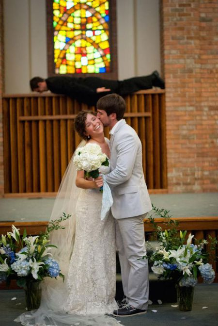 Свадебные забавные фото
