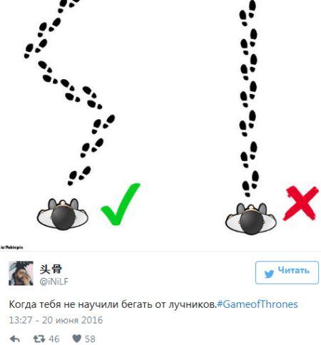 20 лучших шуток из соцсетей на тему 6-го сезона «Игры престолов»!