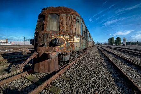 Заброшенный поезд: ржавое эхо XIX века