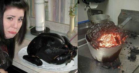 Что творится на кухне у забывчивых людей