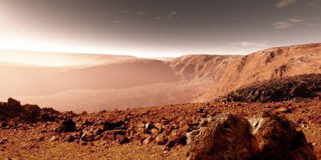 На Марсе нашли руины статуи древнегреческого бога