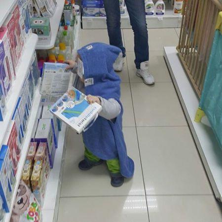 Нам стало ясно, почему продавцы магазинов так не любят детей