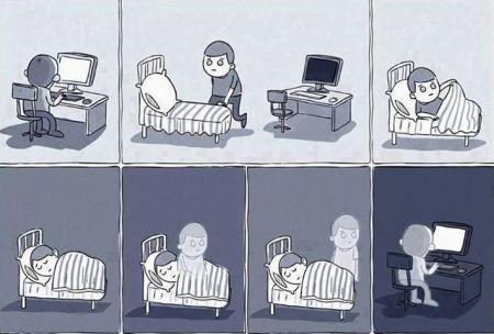 Вот такая вот она жизнь типичного программиста