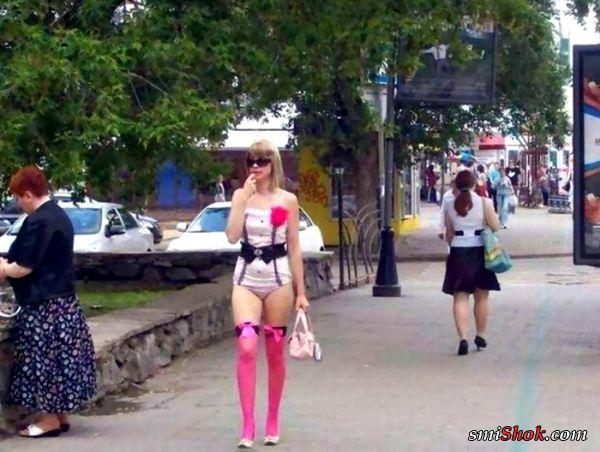 Уличные модники и модницы