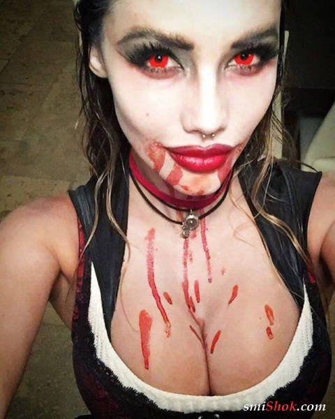 Страшно красива. Девушки на Хэллоуин (43 фото)