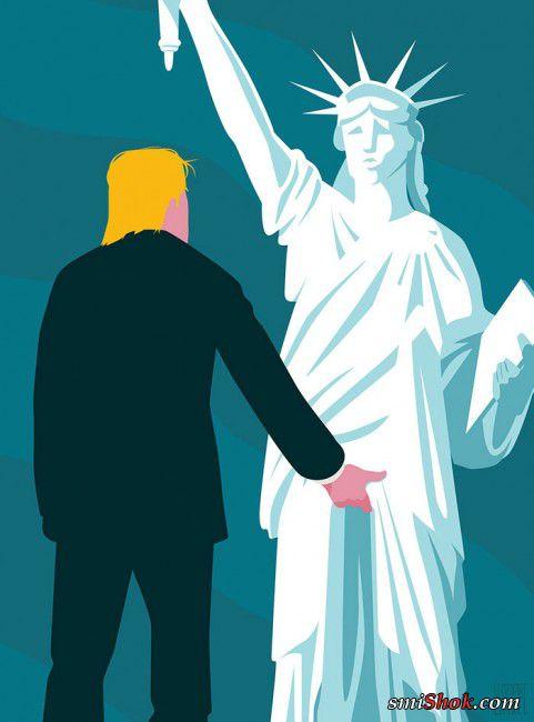 Карикатуры на победу Трампа, над которыми смеётся весь мир!