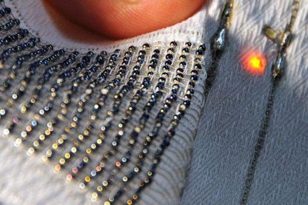 Создана ткань, cпособная накапливать солнечную энергию