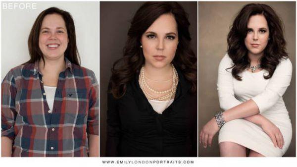 Невероятные преображения женщин и девушек (21 фото)