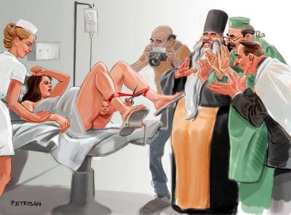 11 шокирующих иллюстраций о современном обществе