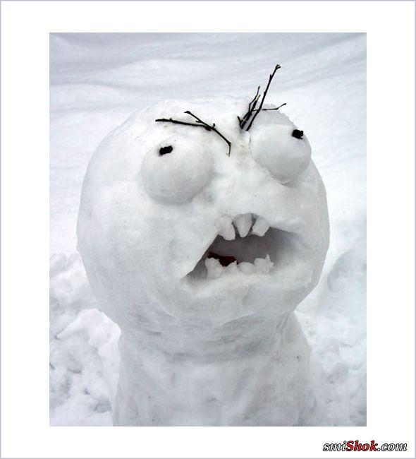 Творческий подход к лепке снеговиков (27 фото)