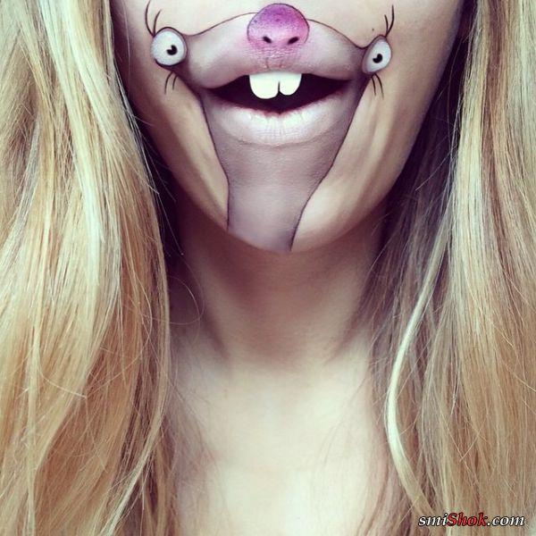 Когда надоела девушкам губная помада