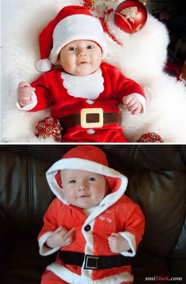 Ожидания vs Реальность: новогодняя фотосессия малышей