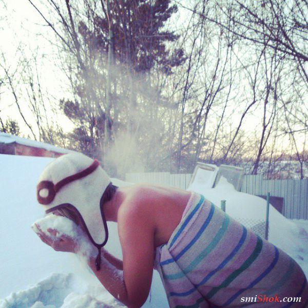 Эти женщины всё лето ждут свое любимое время года - зиму!