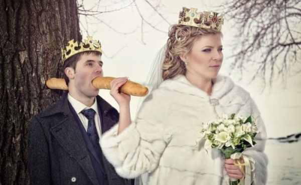 Дурачиться и кривляться на свадьбах - это святое!