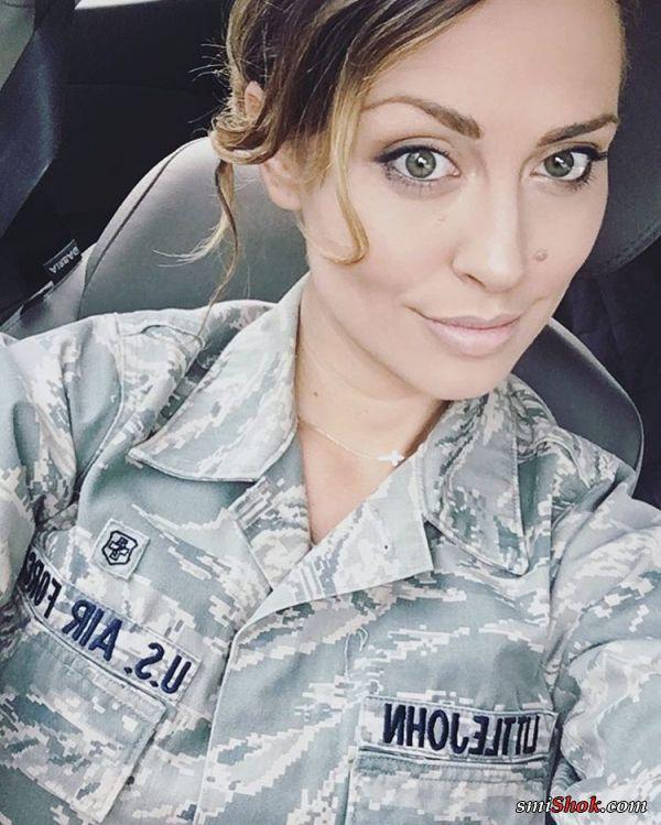 Кэрисса Литтлджон девушка ВВС США