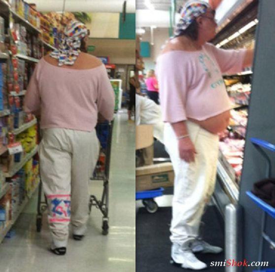 """Самые """"стильные"""" люди без комплексов из супермаркетов"""