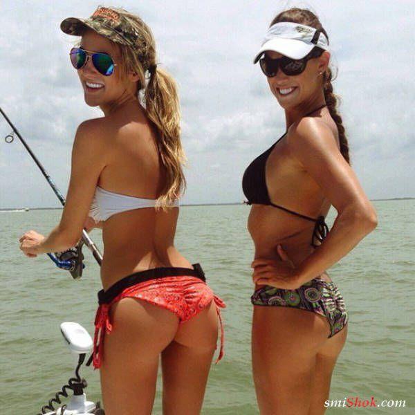 Девушки которые любят рыбалку (31 фото)