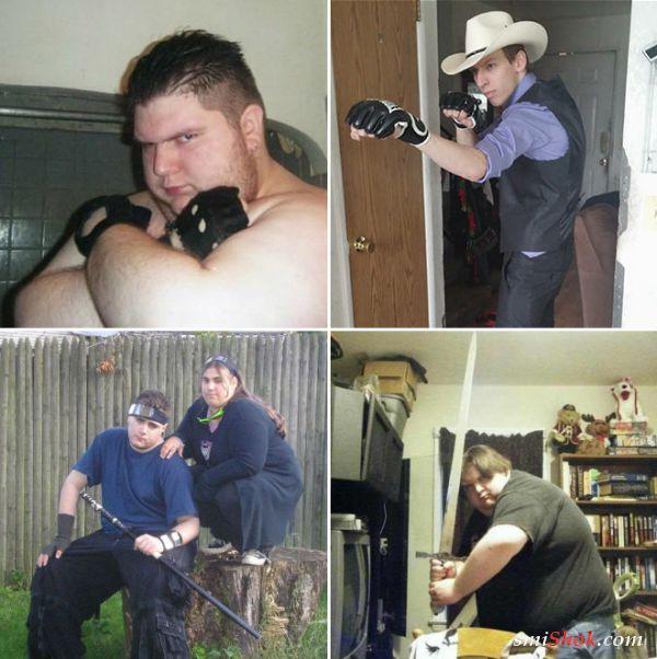 Бесстрашные интернет воины (14 фото)