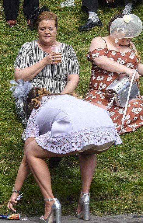 В Великобритании прошел «День леди» (29 фото)