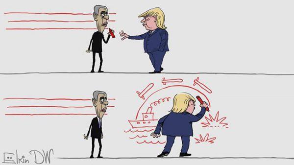 Политический юмор от 16 апреля 2017