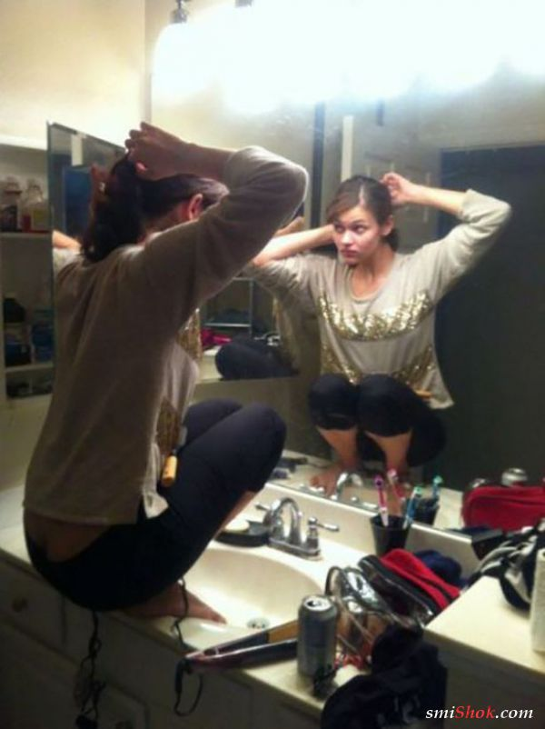 Девушки умеют чудить и удивлять